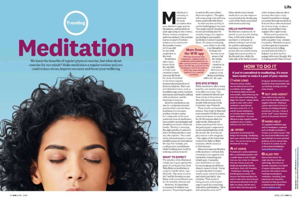 BeSophro for mindfulness